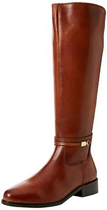 Dune Women's Traviss High Boots, Brown Tan, 3 (36 EU)
