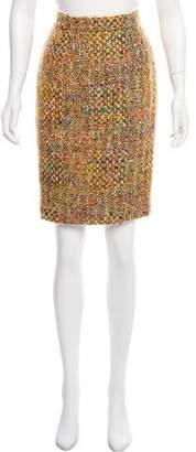 Ungaro Tweed Knee-Length Skirt