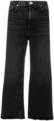 Rag & Bone wide leg cropped jeans