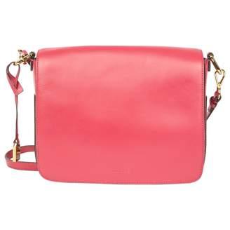 Jaeger Pink Leather Handbag