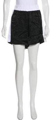 Good American Elasticized Mini Shorts