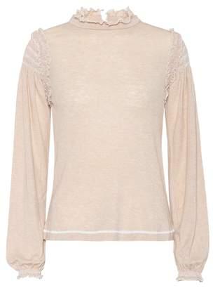 See by Chloe Wool-blend long-sleeved top