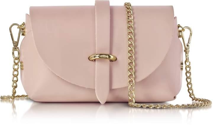 Le Parmentier Caviar Candy Pink Leather Mini Shoulder Bag