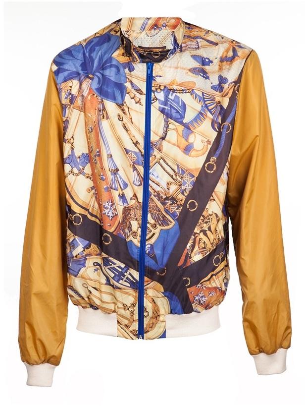 Hermes Fifteen And Half inspired jacket