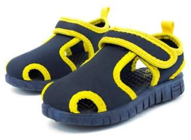 Stepping Stones Casual Water Shoe in Navy/Yellow