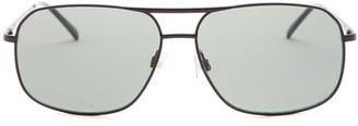 Lucky Brand Men's D910 Aviator Metal Frame Sunglasses $49 thestylecure.com