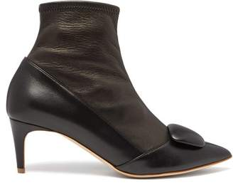 Rupert Sanderson Glynn Leather Ankle Boots - Womens - Black