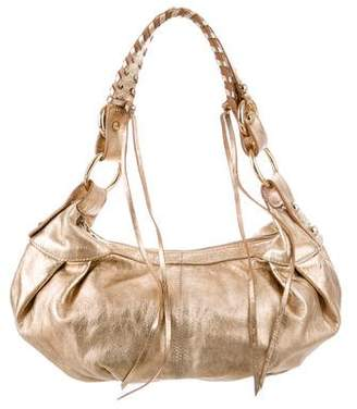 Francesco Biasia Metallic Leather Hobo