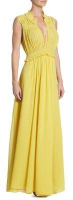 Burberry Burberry Amelia Silk Gown