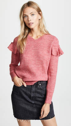 Rebecca Taylor Fluffy Rib Pullover Sweater
