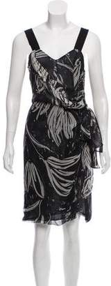 Anna Molinari Printed Knee-Length Dress