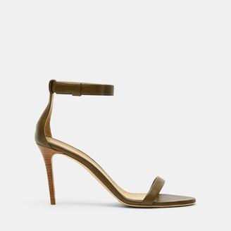 Nappa High Heel Sandal