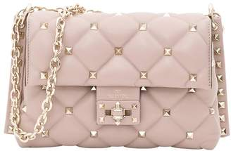 Valentino Candystud Crossbody Bag In Matelasse Nappa Leather