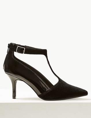 Marks and Spencer Extra Wide Fit Stiletto Heel Court Shoes