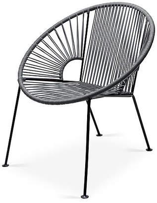 Mexa Ixtapa Lounge Chair - Stone Gray