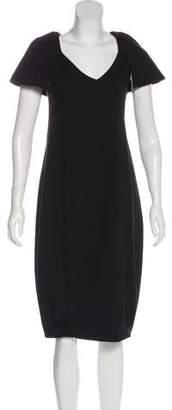 Laviniaturra Short Sleeve Midi Dress