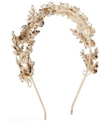 Rosantica Woman Feather-embellished Hair Tie White Size Rosantica NbTl5nWr
