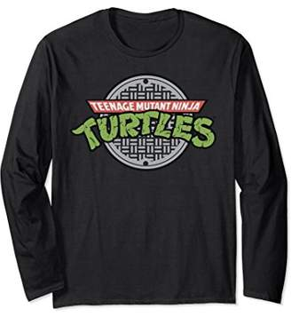 Nickelodeon TMNT sewer logo Long Sleeve T-shirt
