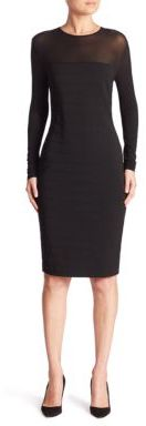 Max Mara Max Mara Orafo Long Sleeve Bandage Dress