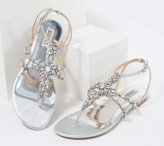 Badgley Mischka Crystal Embellished Dress Sandal - Hampden