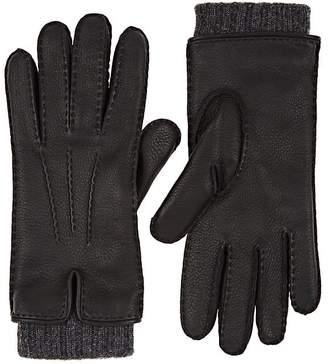 Barneys New York Women's Extended-Cuff Leather Gloves