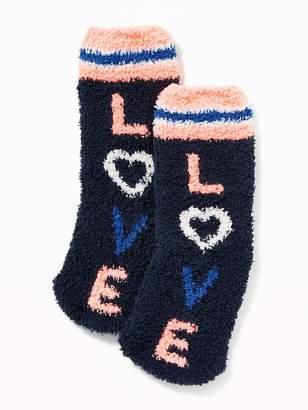 Old Navy Graphic Cozy Socks for Kids