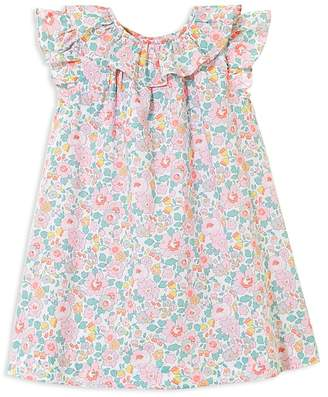 Jacadi Girls' Floral Ruffled Dress - Baby