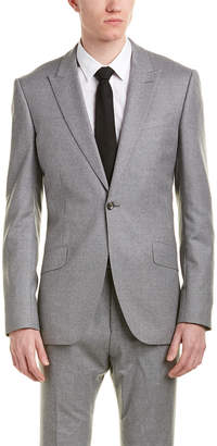 Reiss 2Pc Samuel Modern Fit Wool Suit With Flat Front Pant