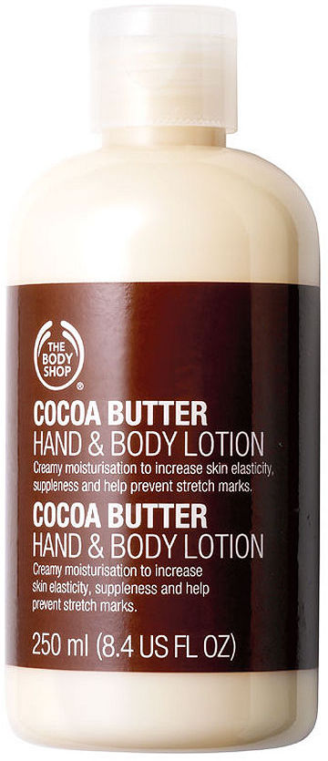 The Body Shop Hand & Body Lotion, Cocoa Butter 8.45 fl oz (250 ml)