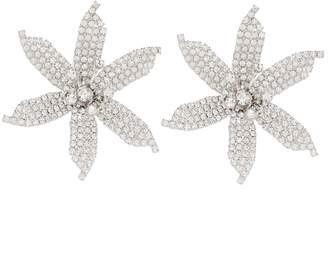 Jennifer Behr Crystal-embellished earrings
