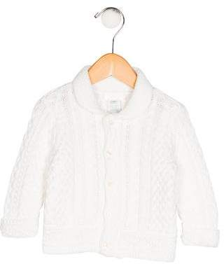 c6c71d42cd8a Cable Knit Baby White Sweater - ShopStyle