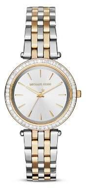 Michael Kors Darci Two-Tone Watch, 33mm