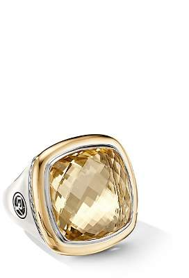 David Yurman Albion® Statement Ring with 18K Yellow Gold & Champagne Citrine