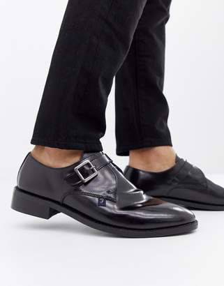 Farah Jeans High Shine Monk Shoe
