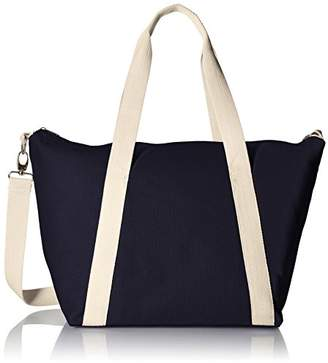 Rhombus Canvas A-Line Tote Bag