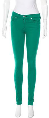 Rag & Bone Mid-Rise Skinny Jeans $65 thestylecure.com