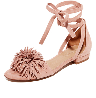 Madewell Kaia Ankle Wrap Sandals $98 thestylecure.com