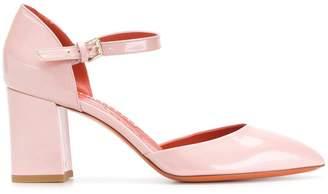 Santoni ankle strap pumps