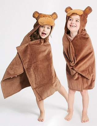 Marks and Spencer Monkey Hooded Towel