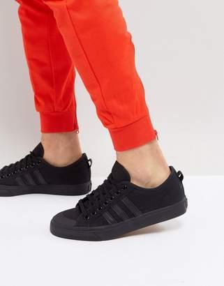 adidas Nizza Lo Sneakers In Black BZ0495