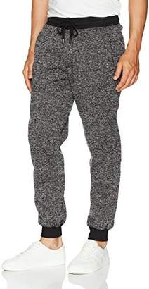 Southpole Men's Basic Fleece Marled Jogger Pant