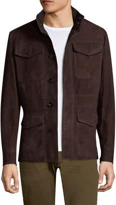 Ermenegildo Zegna Suede Field Jacket