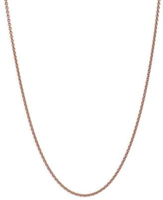 Dodo Sterling Silver Chain Necklace, 31.4""
