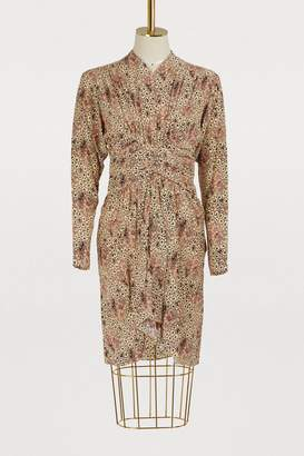 Isabel Marant Hany long-sleeved dress
