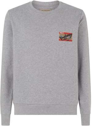 Burberry Check Ticket Sweatshirt