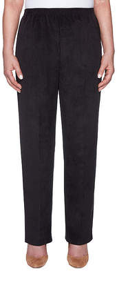 Alfred Dunner Classics Classic Fit Corduroy Pull-On Pants-Misses Short