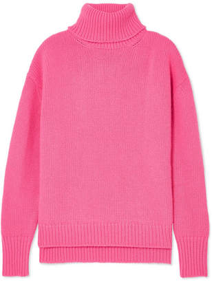 Golden Goose Joana Merino Wool Turtleneck Sweater - Pink