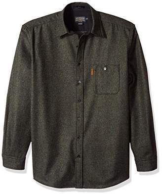Pendleton Men's Size Long Sleeve Button Front Tall Trail Shirt