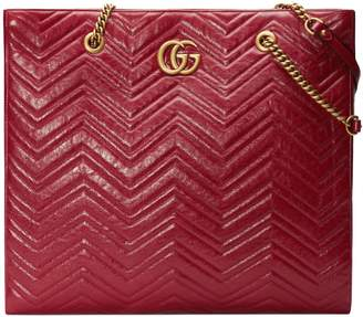 Gucci GG Marmont 2.0 Matelasse Leather North/South Tote Bag
