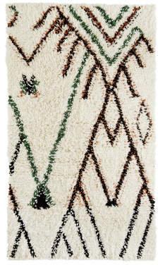 Madam Stoltz Wool & Cotton Rug
